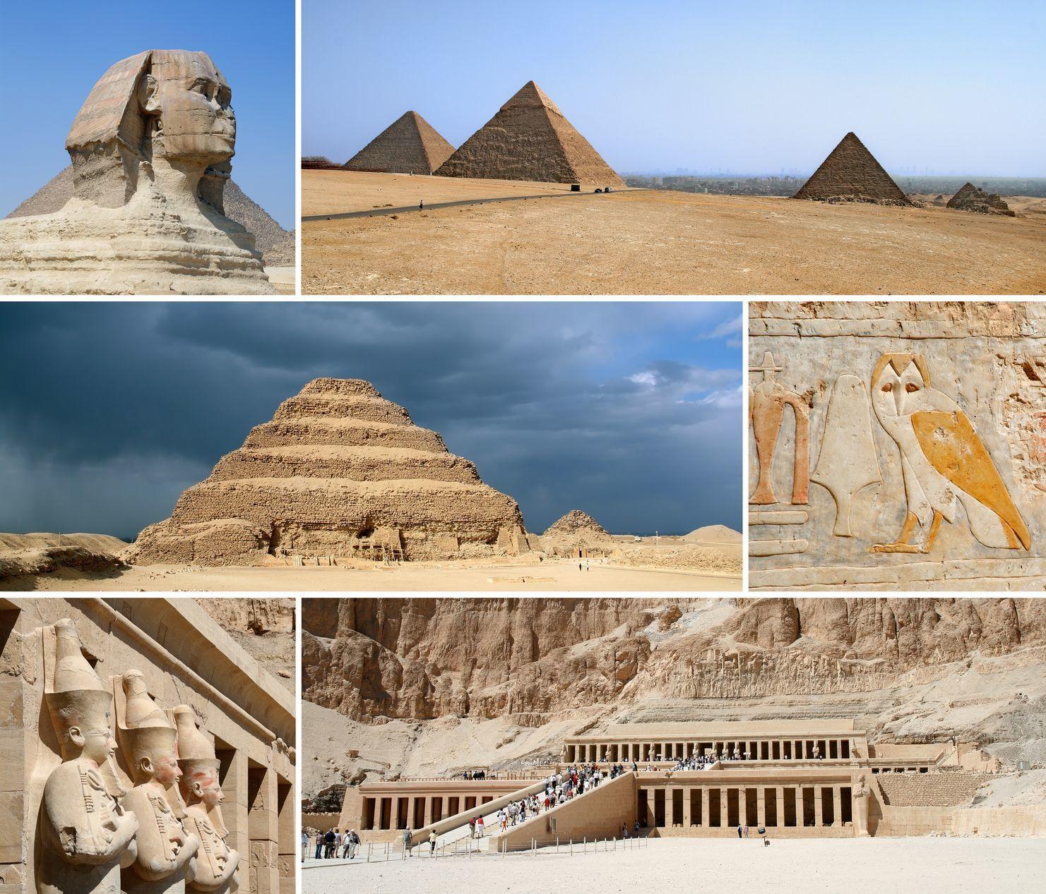 Egyptské památky | yuelan/123RF.com