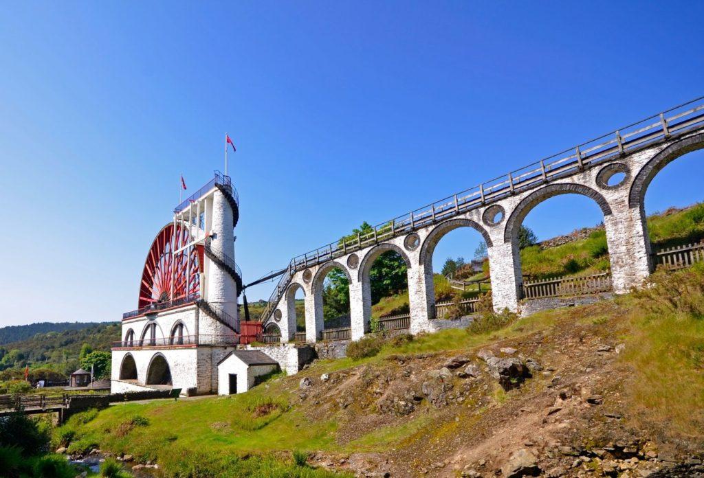 Velká Laxey Wheel s viaduktem | tr3gi/123RF.com