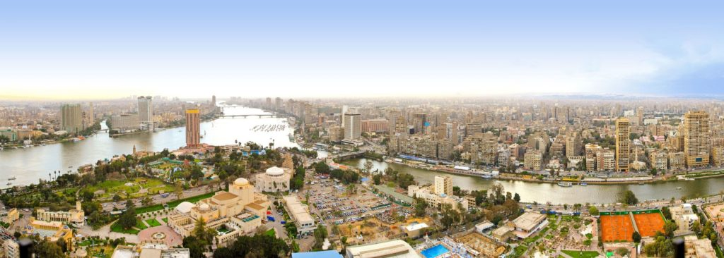 Výhled na Káhiru z věže Cairo Tower | Baloncici/123RF.com