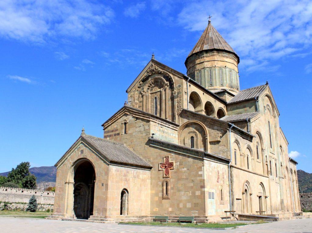 Katedrála Sveticchoveli ve městě Mccheta v Gruzii | gelia/123RF.com