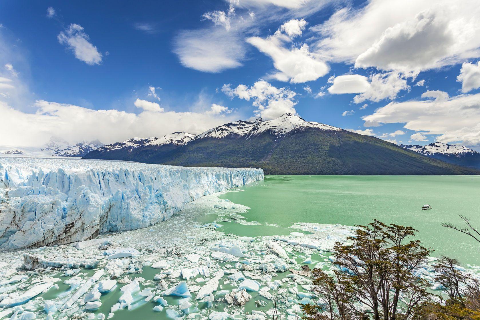 Ledovec Perito Moreno v národním parku Los Glaciares v Argentině | maciejbledowski/123RF.com