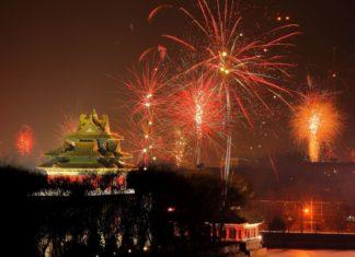 Ohňostroj nad Zakázaným městem v Číně | lusea/123RF.com
