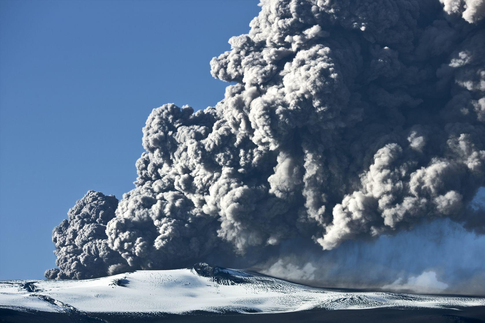 Sopečná erupce na Islandu | klikk/123RF.com