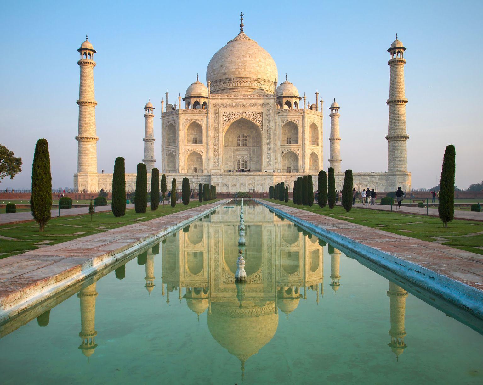 Tádž Mahal v Indii | mazzzur/123RF.com