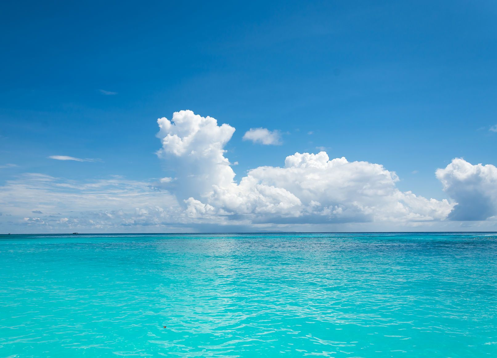 Modrá obloha a oceán   topntp/123RF.com