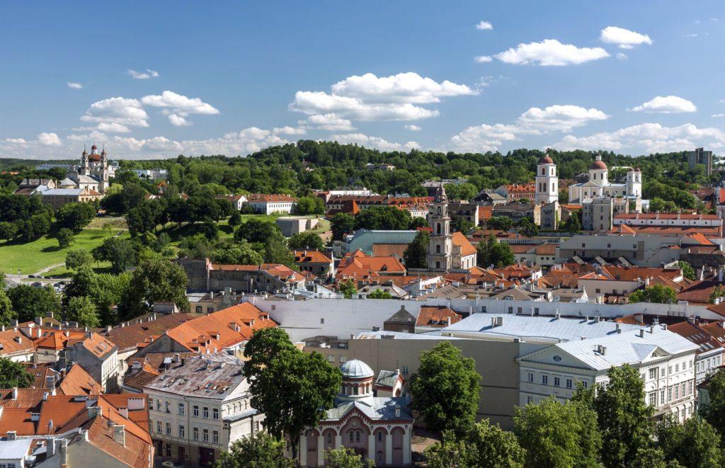 Pohled na staré město Vilnius | cebas/123RF.com