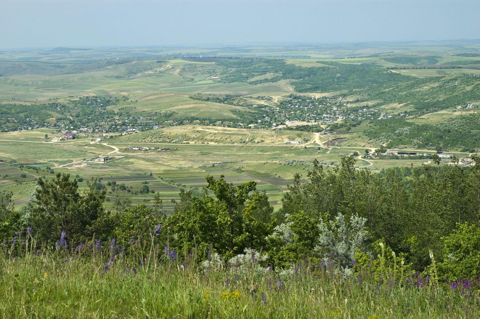 Venkovská krajina v Moldavsku | starush/123RF.com