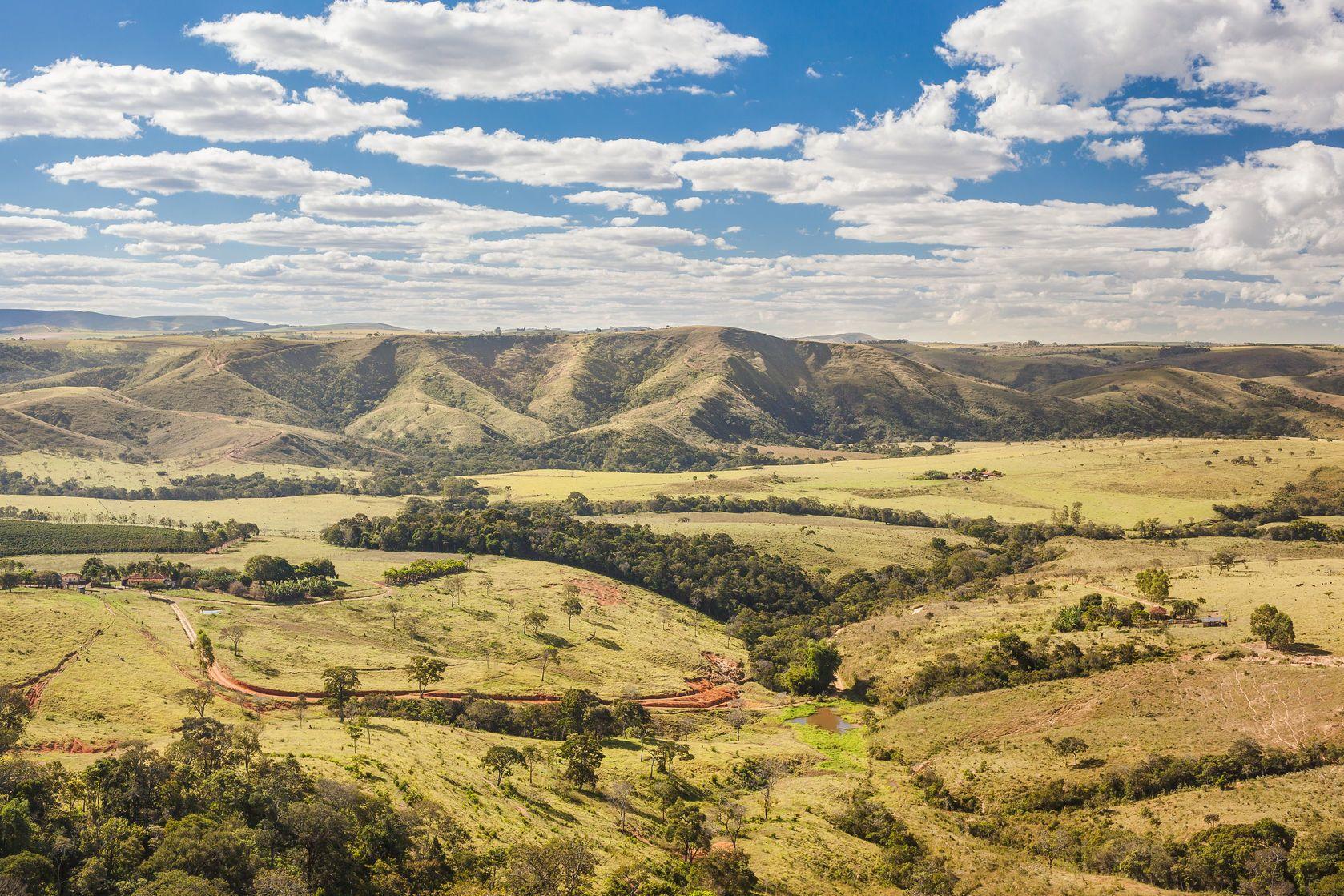 Krajina v Minas Gerais | luchqueiroz/123RF.com