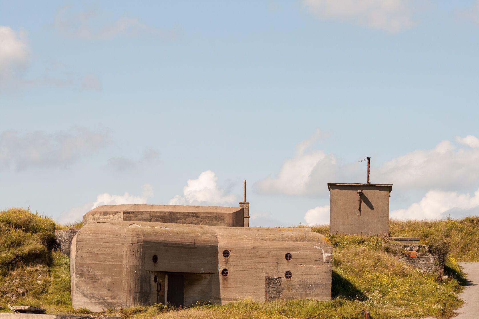 Německý bunkr poblíž Ostende | havanaman/123RF.com