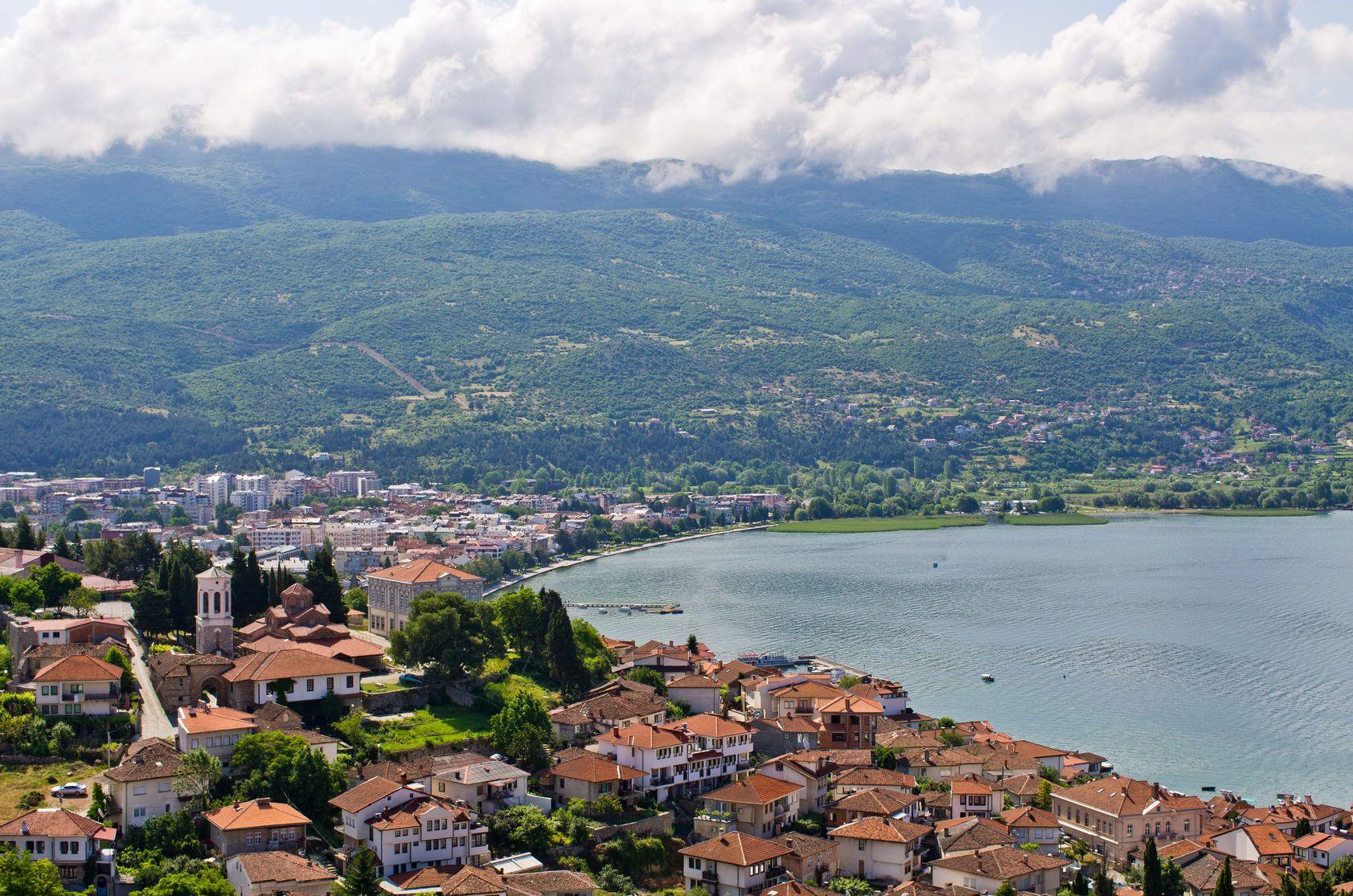Krajina v okolí města Ohrid v Makedonii | ccat82/123RF.com