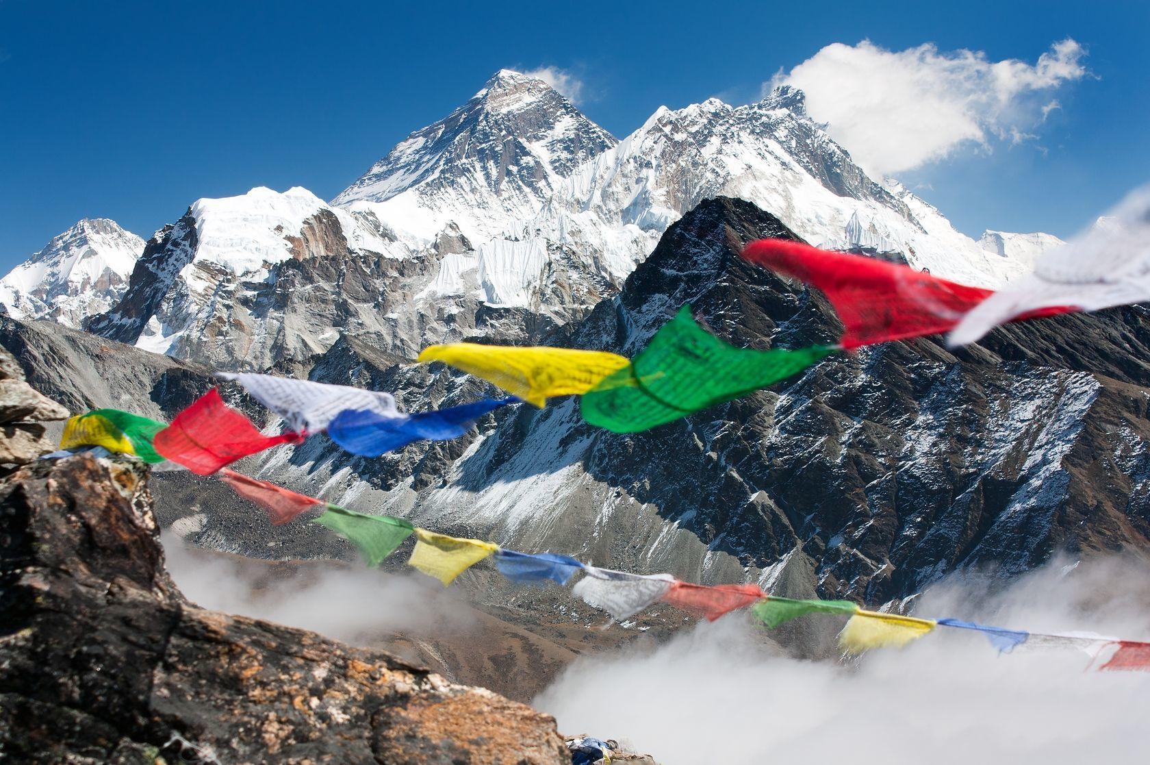 Modlitební praporky v Nepálu | prudek/123RF.com