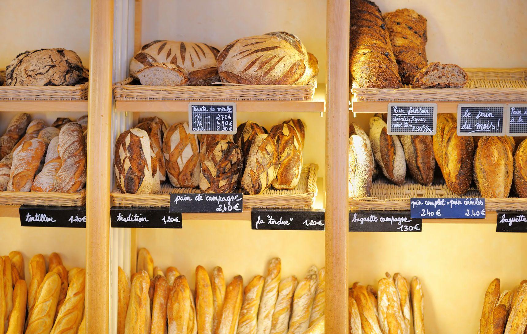 Francouzské pekařství | marysmn/123RF.com