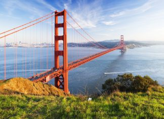 Golden Gate Bridge v San Franciscu | somchaij/123RF.com