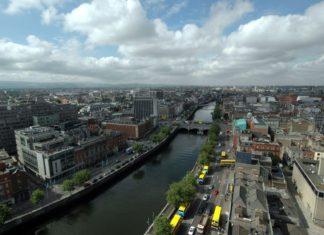 Letecký pohled na Dublin | speedfighter/123RF.com