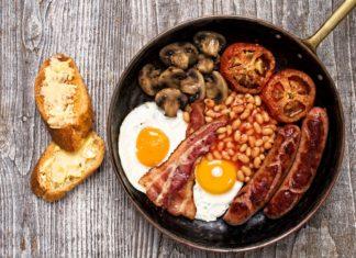 Typická anglická snídaně | zkruger/123RF.com