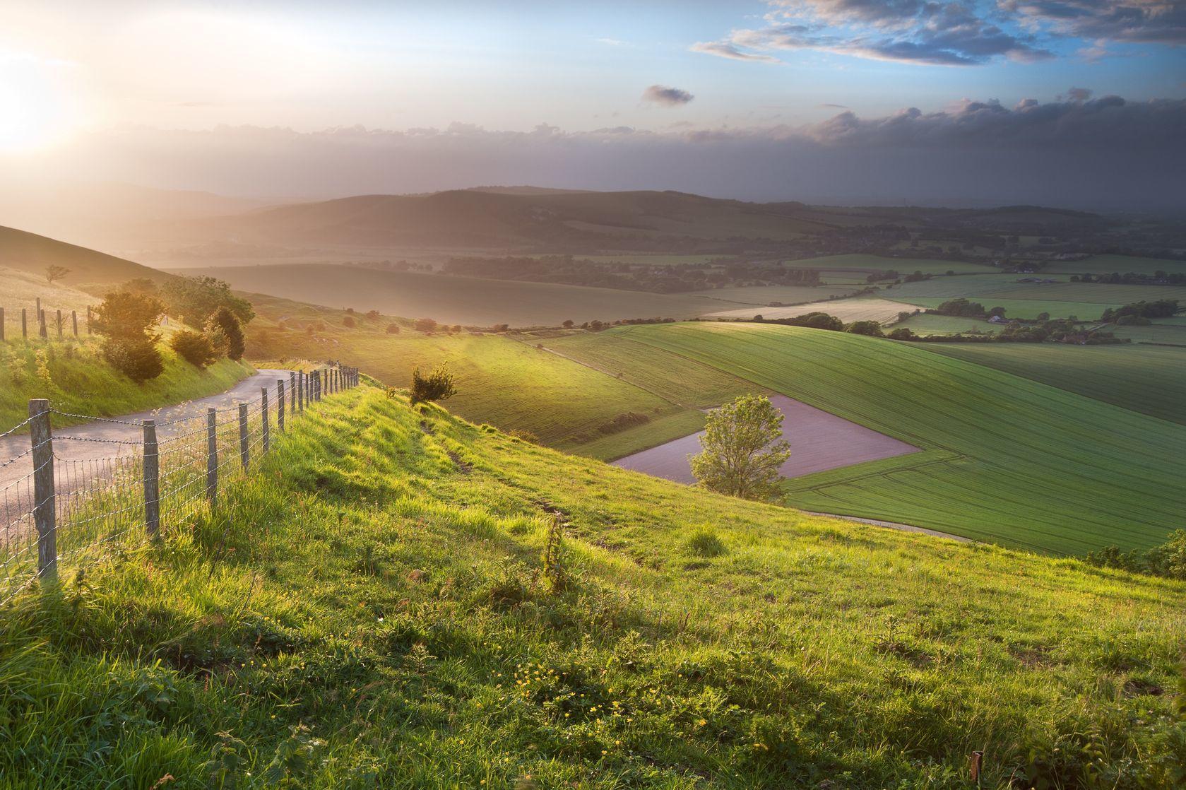 Anglická krajina | veneratio/123RF.com