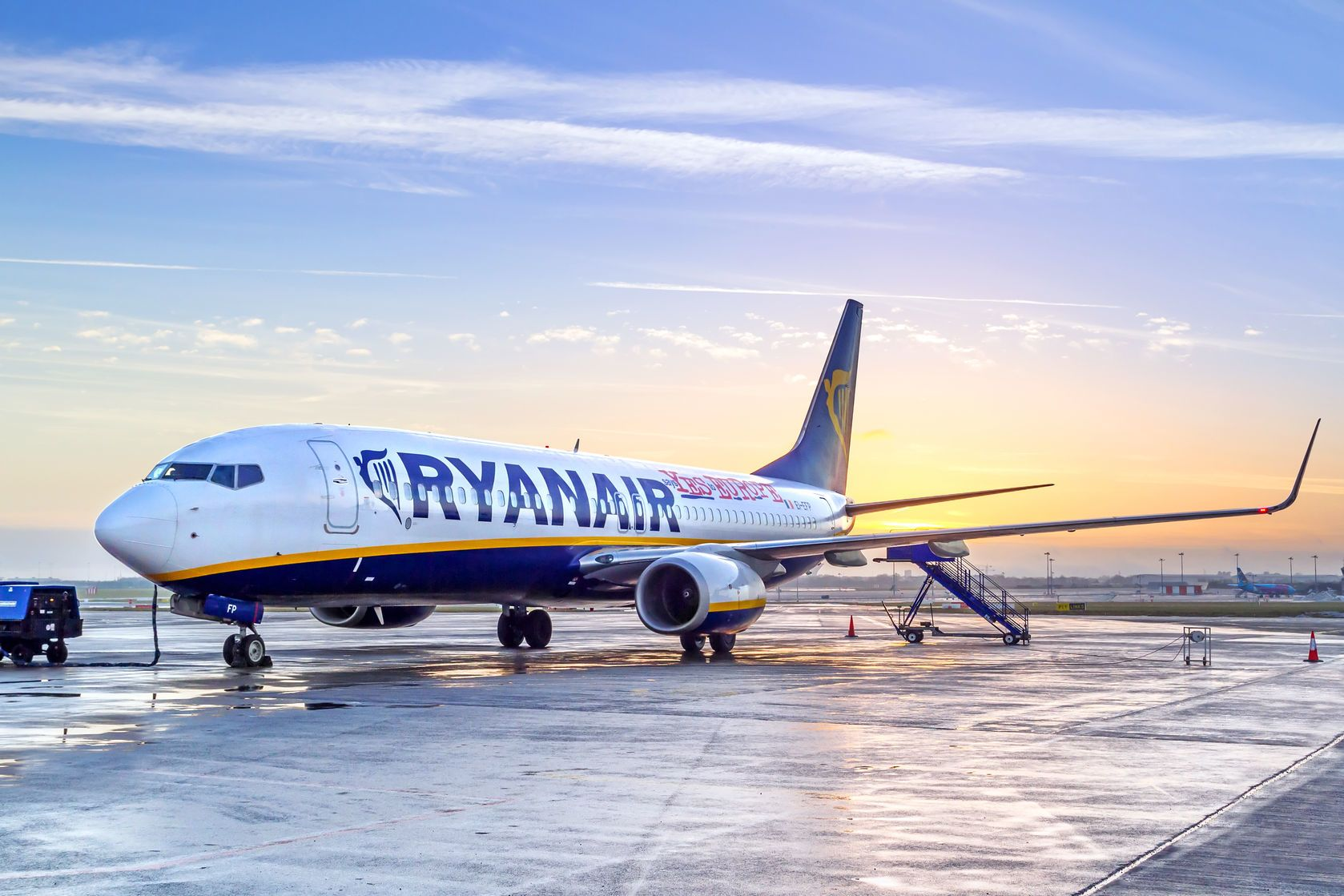 Letadlo společnosti Ryanair | patrykkosmider/123RF.com