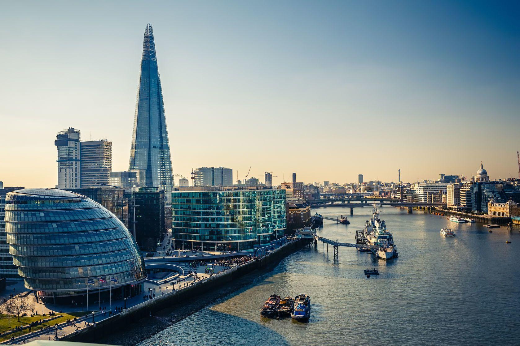Řeka Temže v Londýně | sborisov/123RF.com