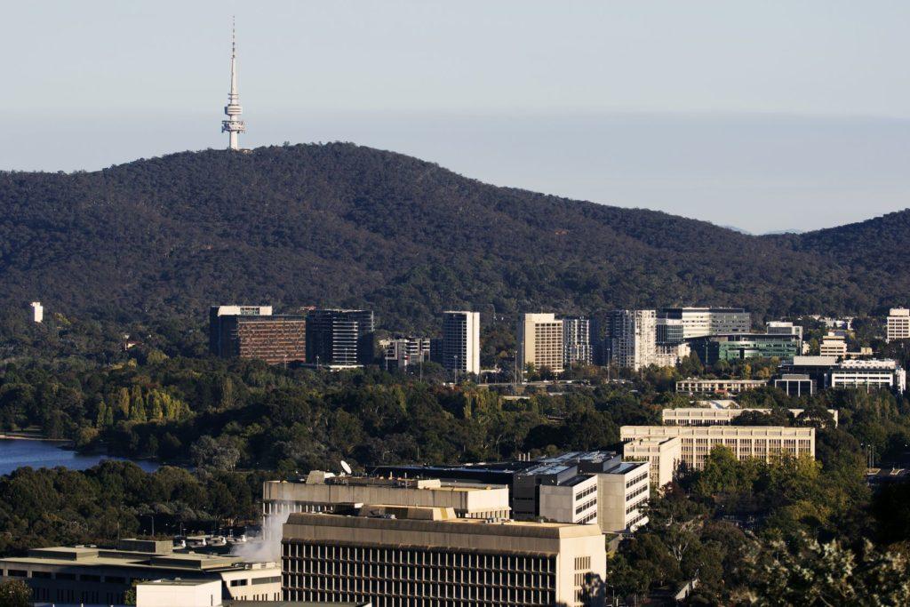 Black Mountain s Telstra Tower v Canbeře | benkrut/123RF.com