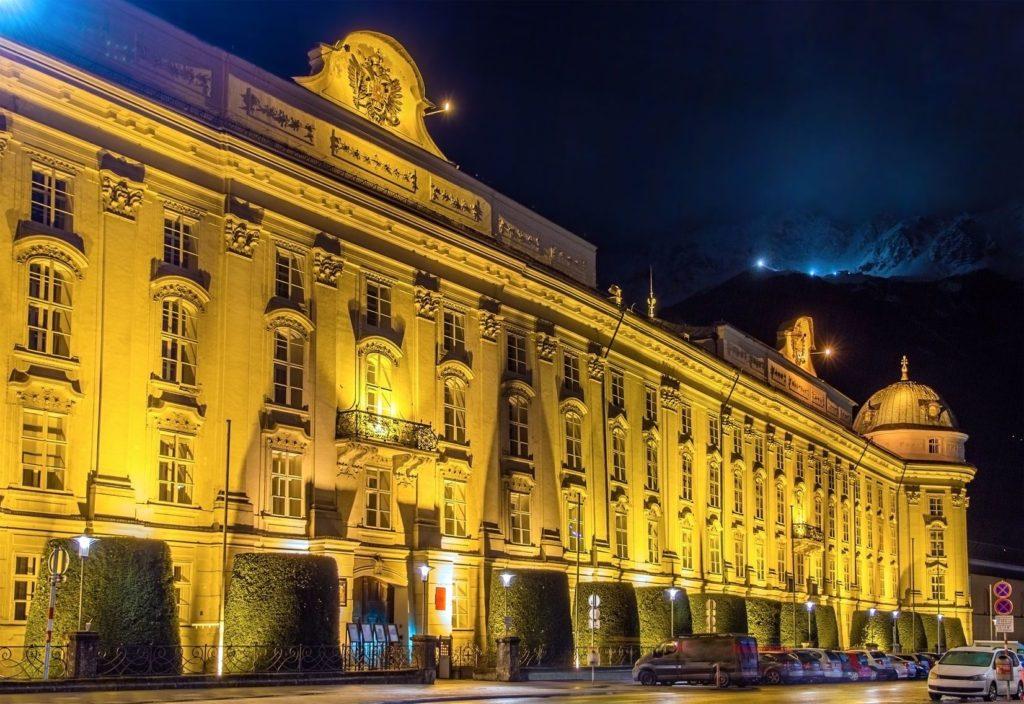 Císařský palác Hofburg v Innsbrucku   elec/123RF.com