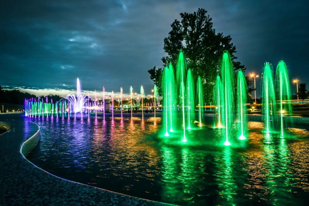 Fontána ve Varšavě | gekaskr/123RF.com