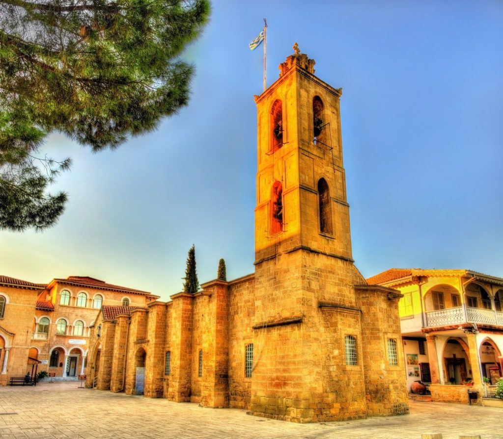 Kostel Agios Ioannis v Nikósii   elec/123RF.com