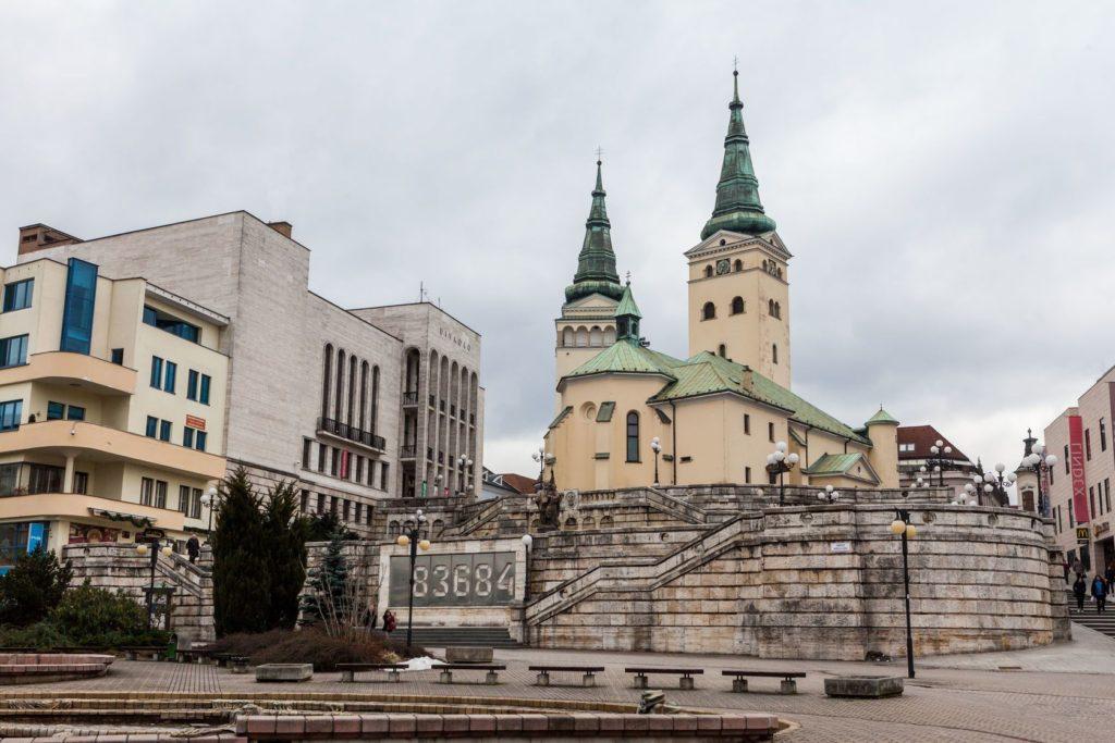 Kostel Nejsvětější Trojice v Žilině | oscity/123RF.com