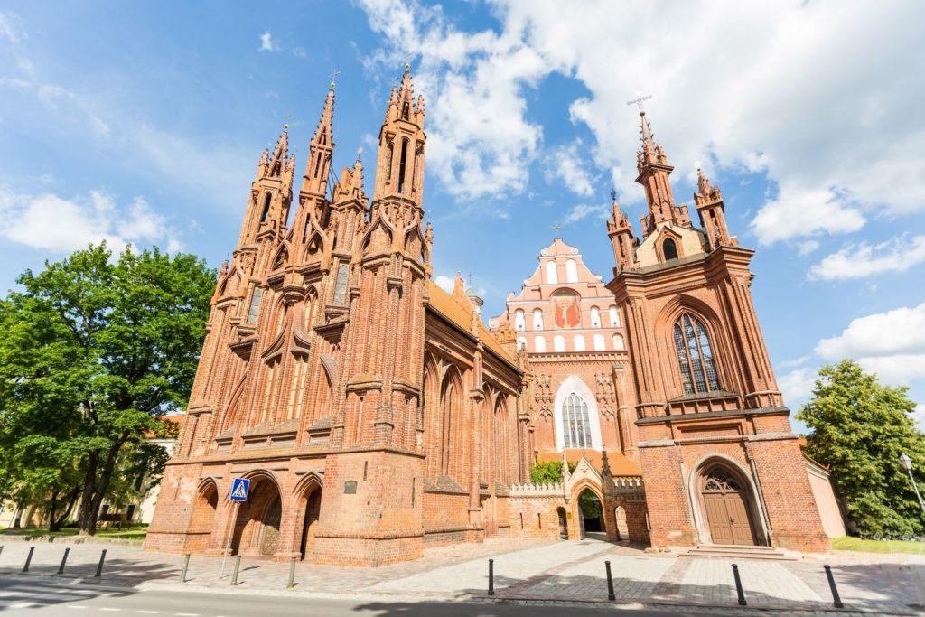 Kostel svaté Anny ve Vilniusu   william87/123RF.com