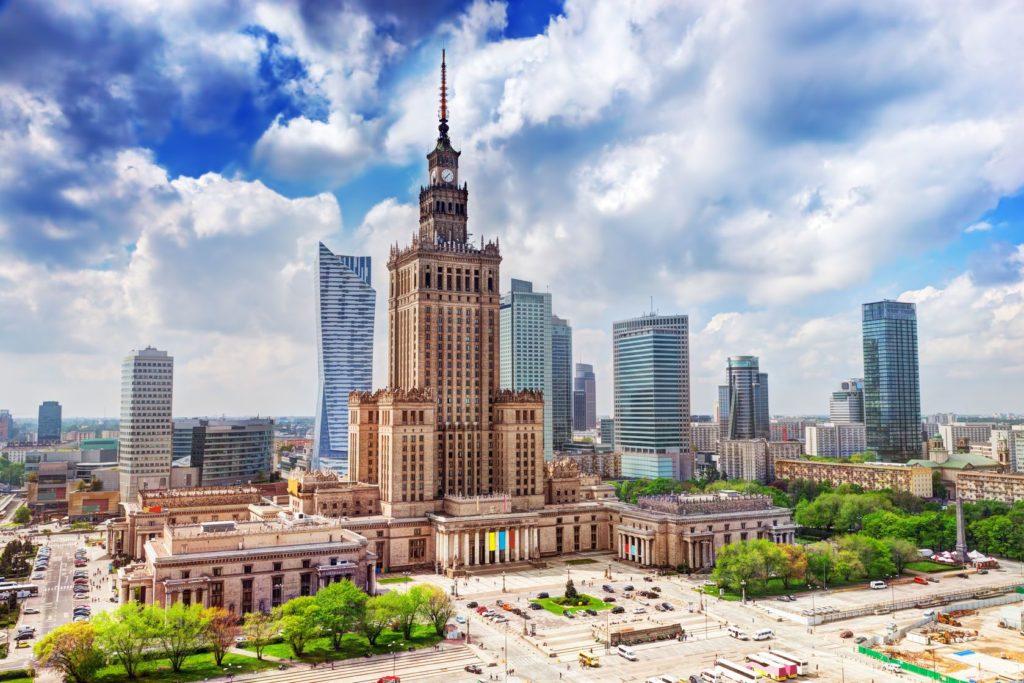 Palác vědy a kultury ve Varšavě | niserin/123RF.com
