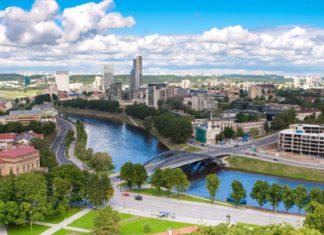 Panorama města Vilnius v Litvě | birute/123RF.com