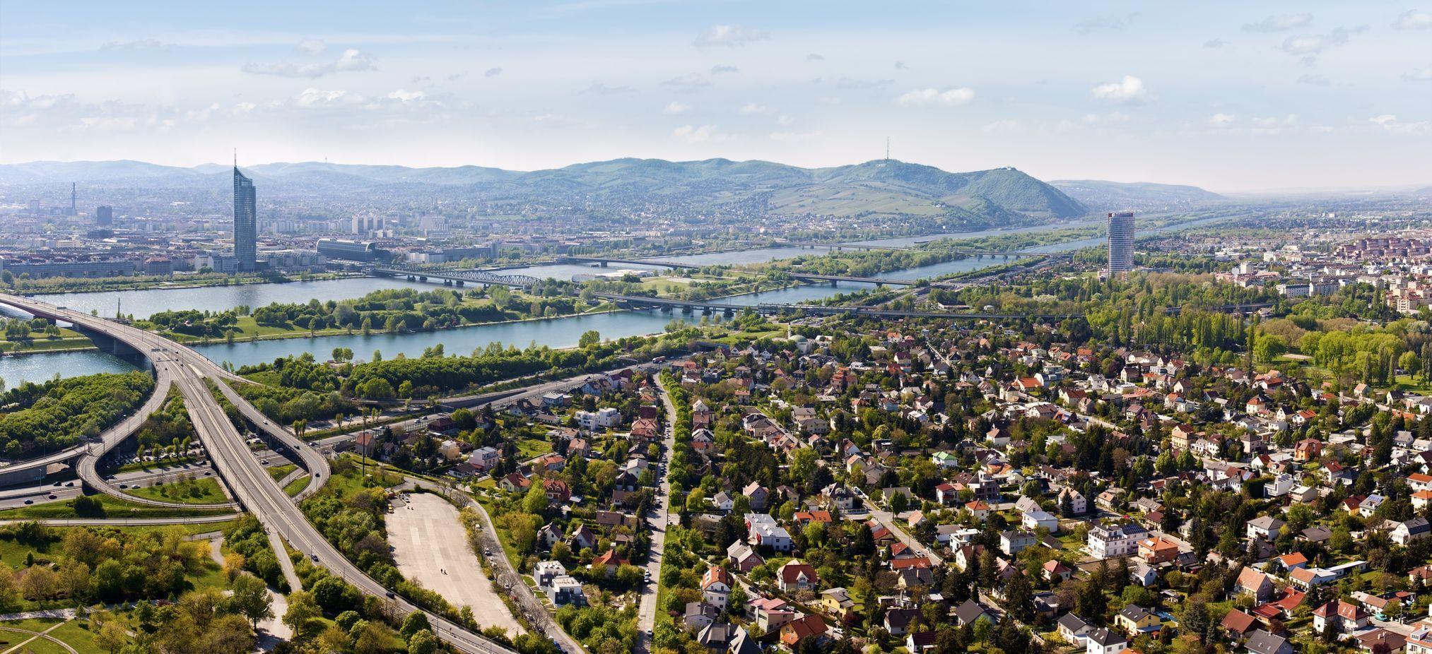 Panorama Vídně v Rakousku | creativemarc/123RF.com