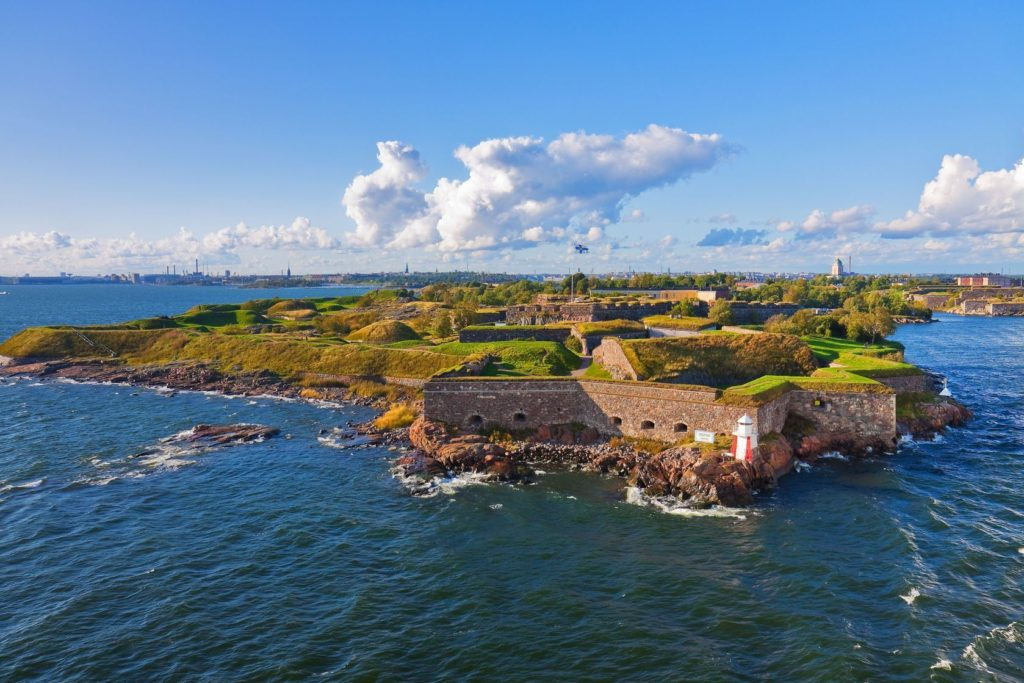 Pevnost Suomenlinna v Helsinkách | scanrail/123RF.com