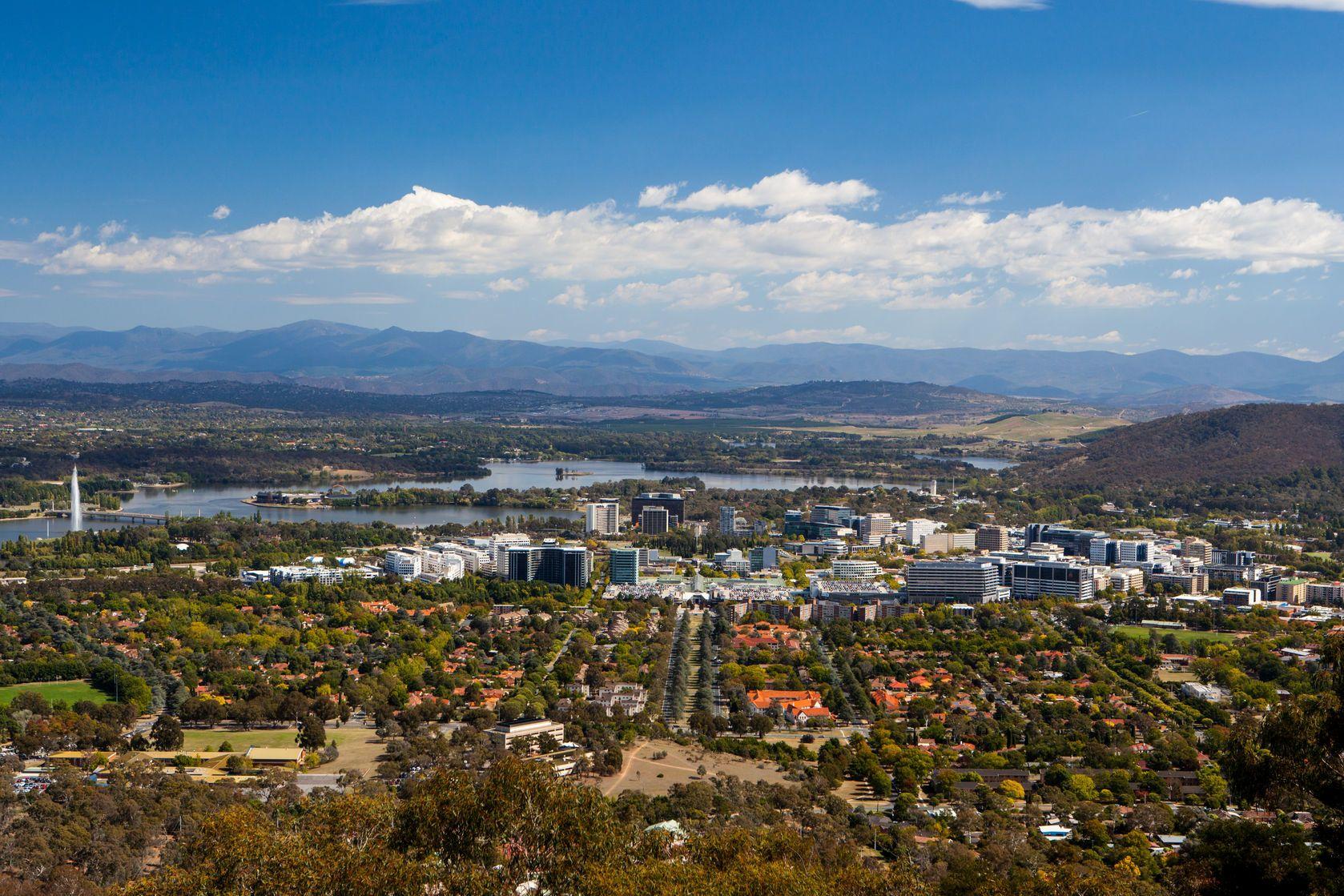 Pohled na Canberru v Austrálii | filedimage/123RF.com