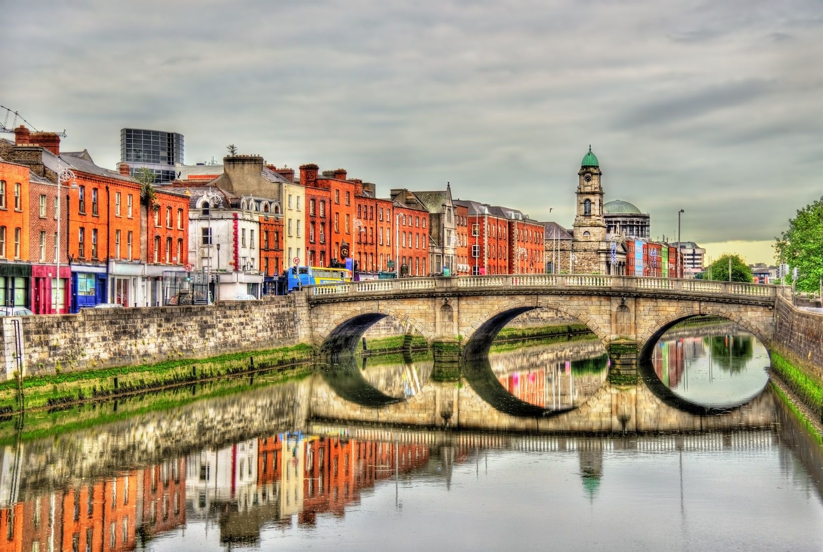 Pohled na Dublin v Irsku | elec/123RF.com