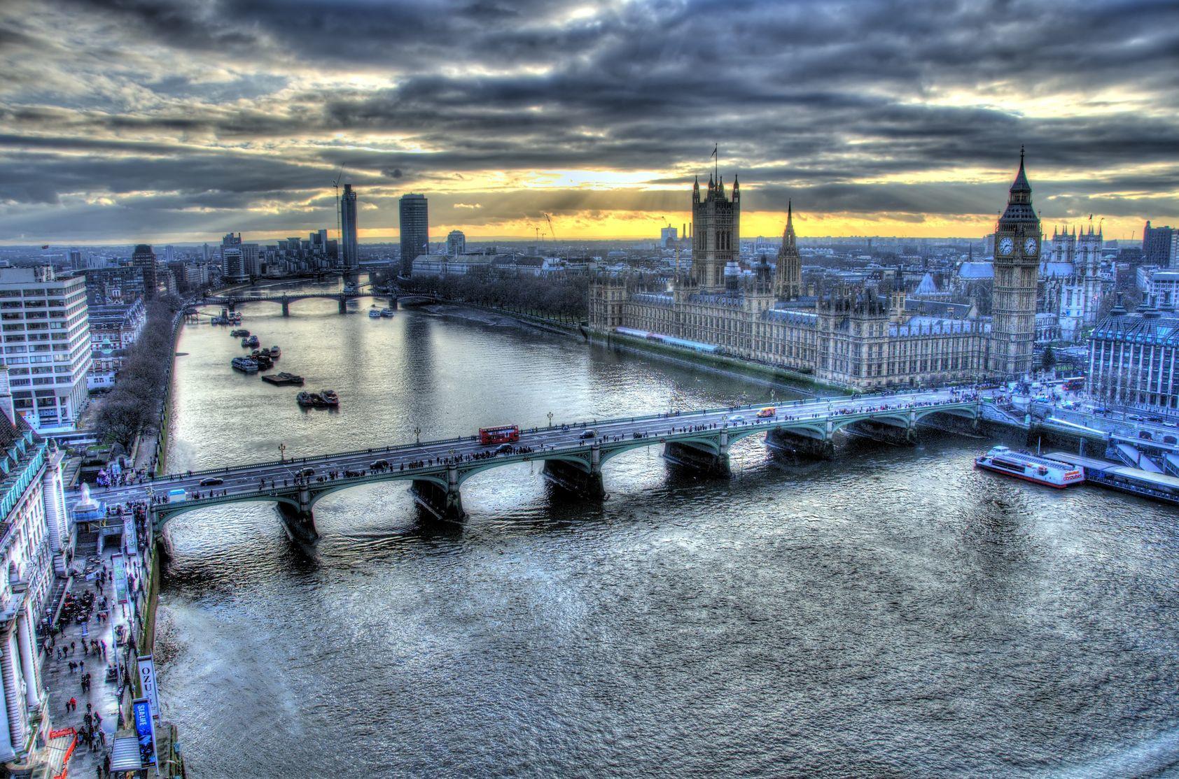 Pohled na Londýn z Londýnského oka | arnelsr/123RF.com