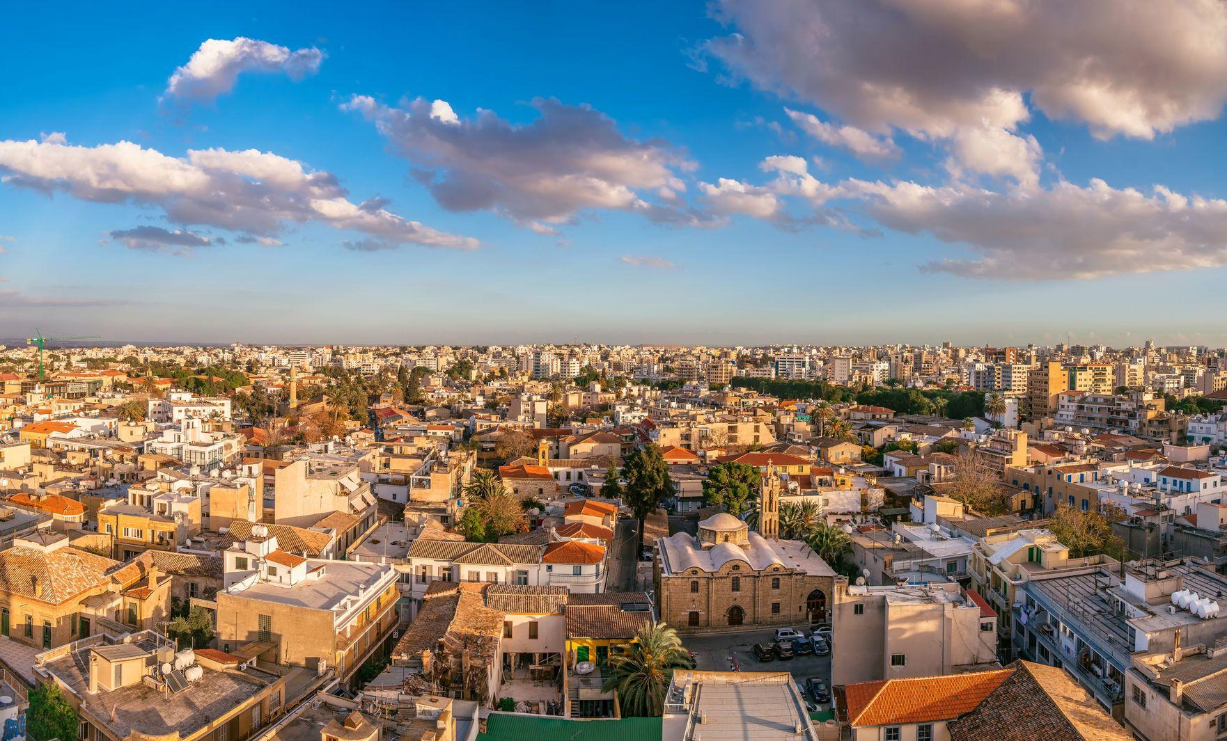 Pohled na město Nikósie na Kypru   kirillm/123RF.com