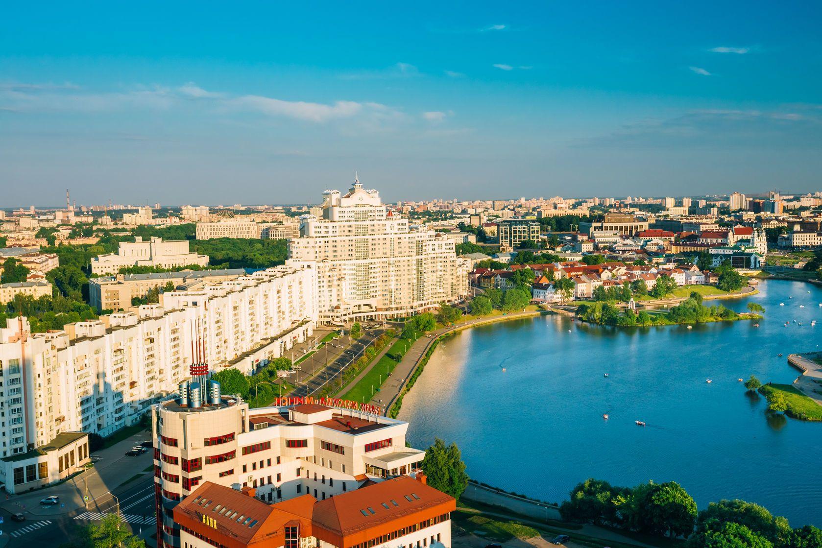 Pohled na Minsk v Bělorusku | grigory_bruev/123RF.com