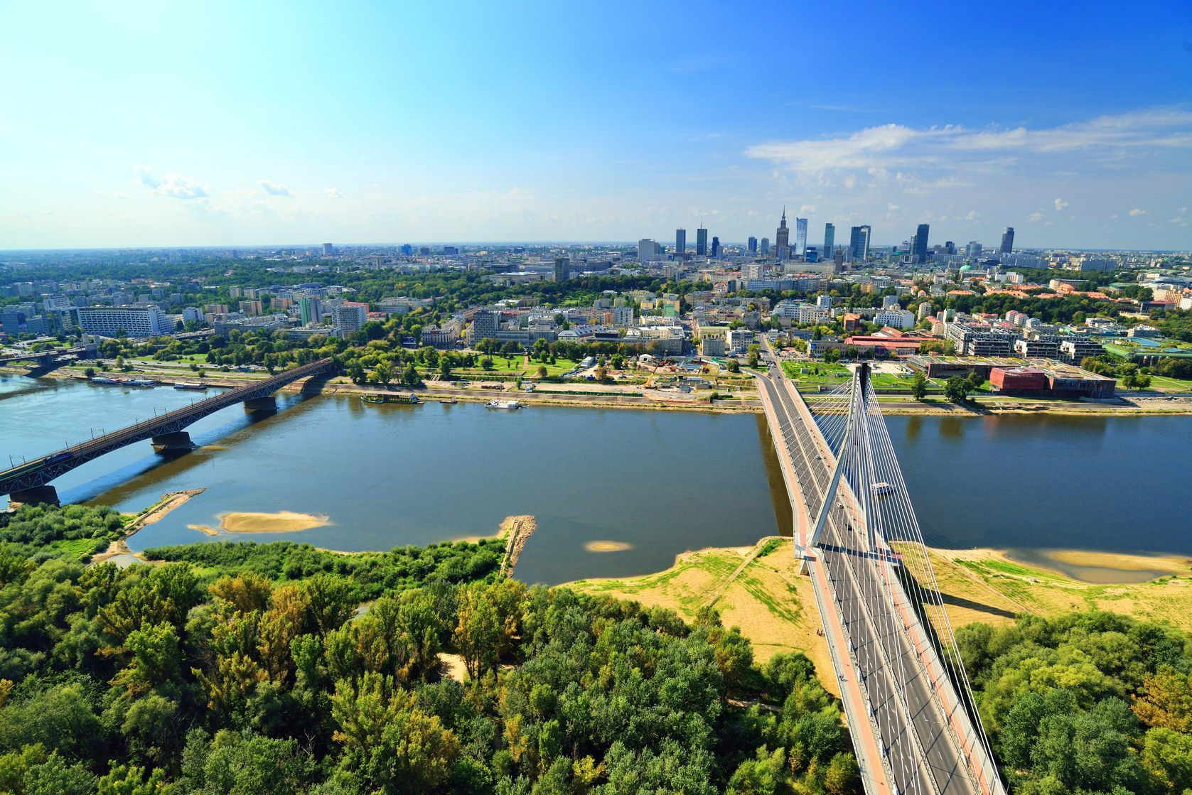 Pohled na Varšavu v Polsku | itsmejust/123RF.com