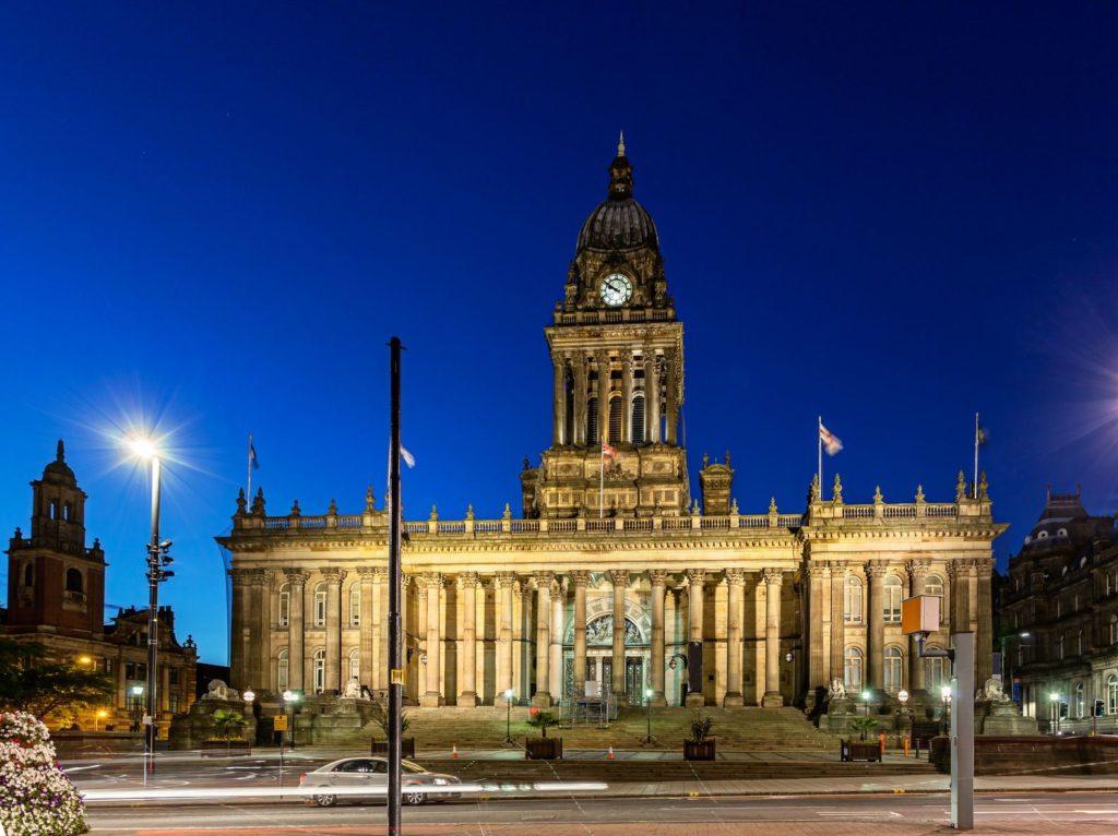 Radnice v Leedsu   sakhaphotos/123RF.com