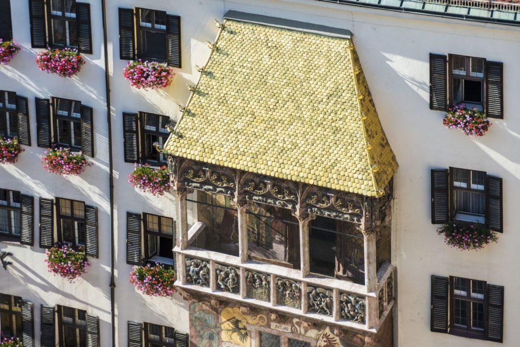 Zlatá střecha v Innsbrucku   anibaltrejo/123RF.com