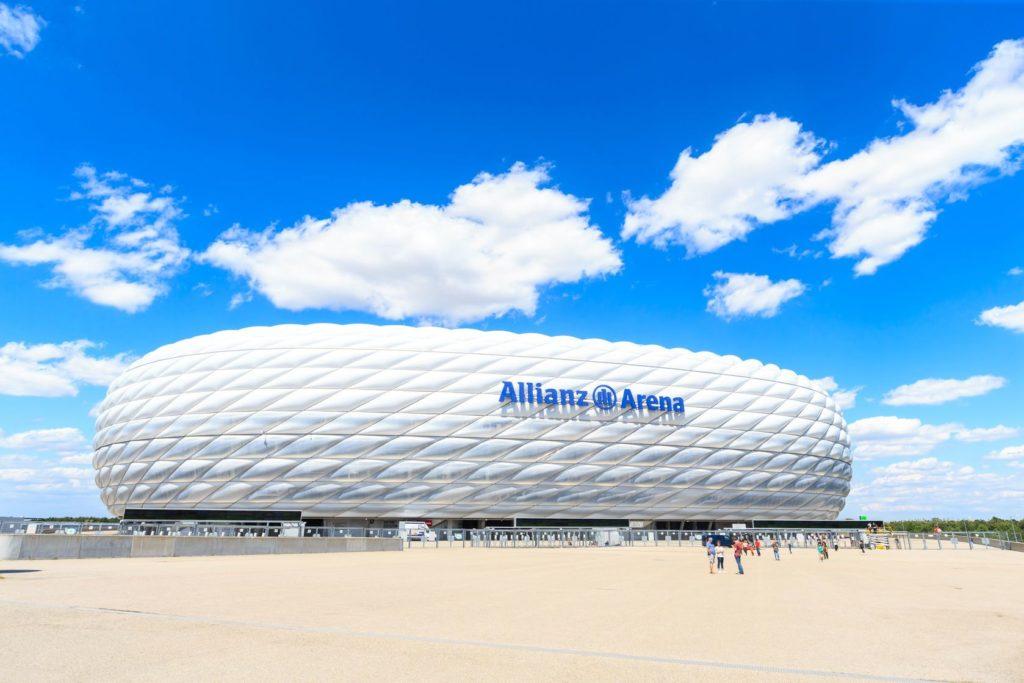 Alianz Arena v Mnichově   pigprox/123RF.com