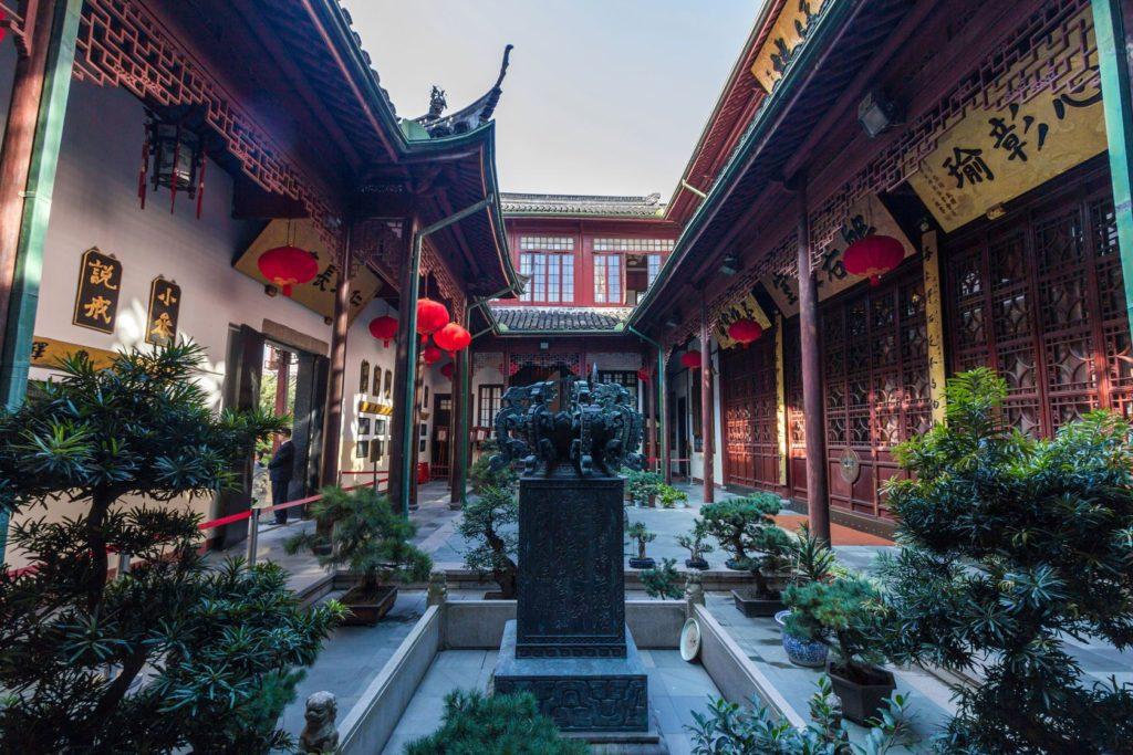 Buddhistický chrám Jade v Šanghaji   manganganath/123RF.com