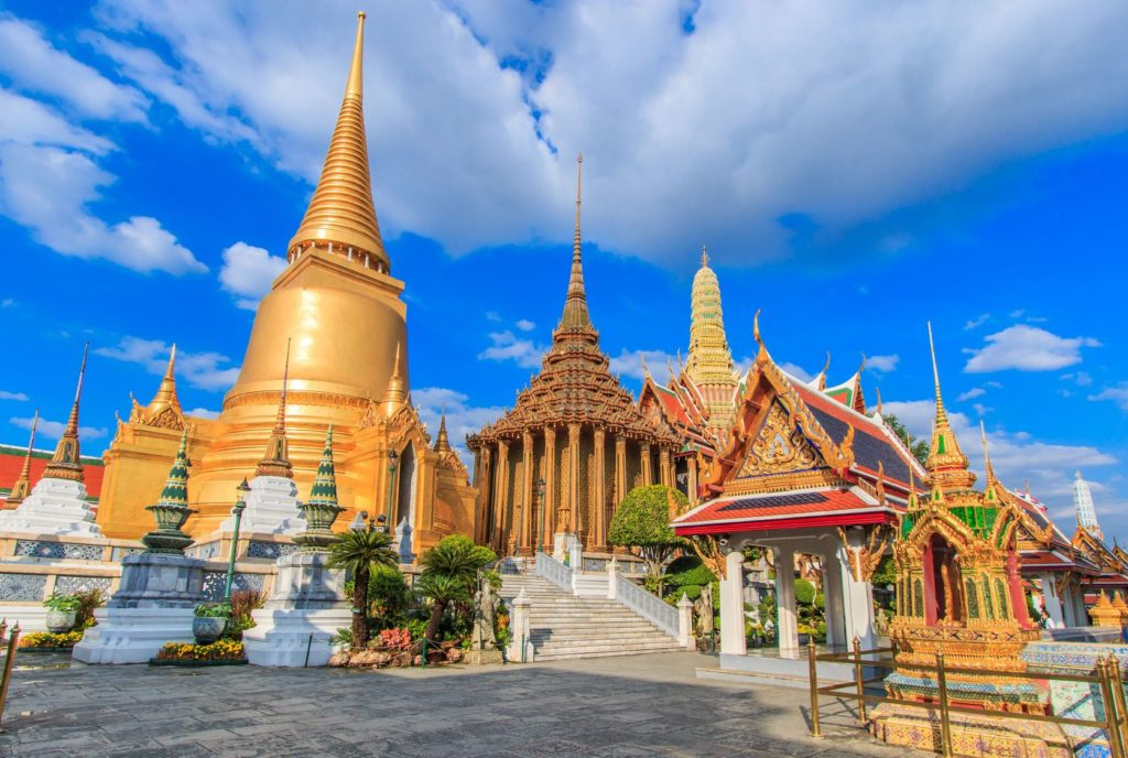 Chrám Wat Phra Kaew v Bangkoku | photoroad/123RF.com
