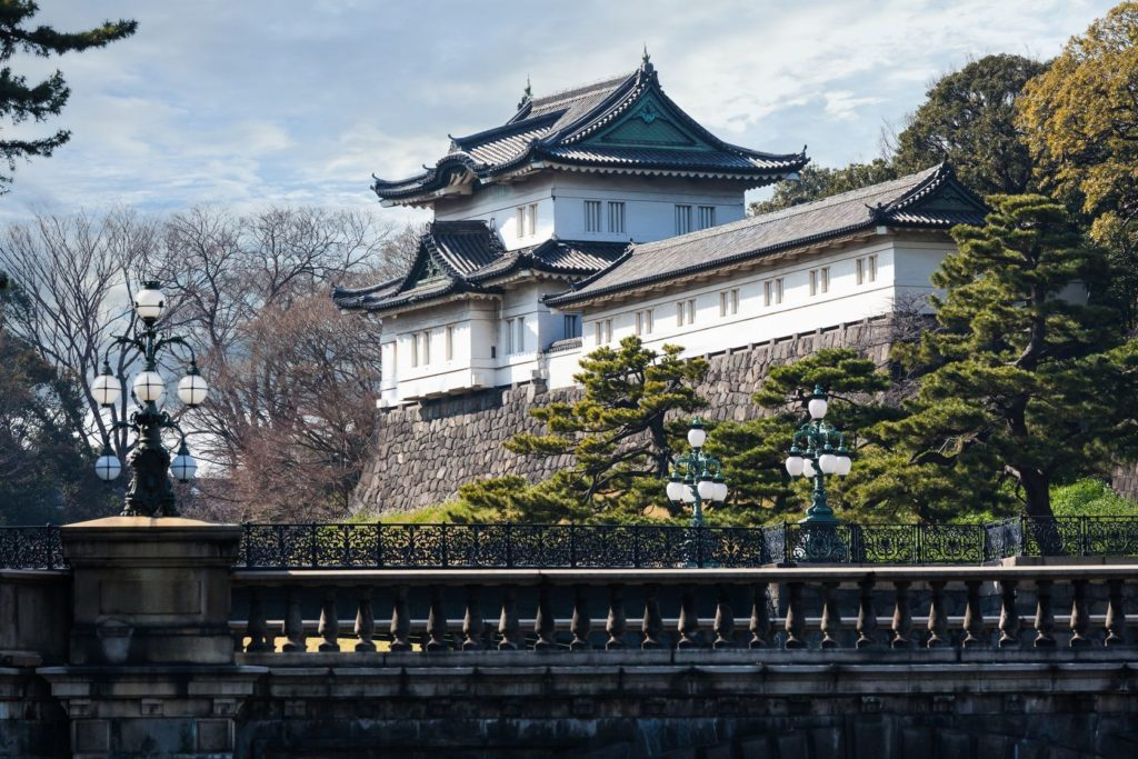 Císařský palác v Tokiu   santanor/123RF.com
