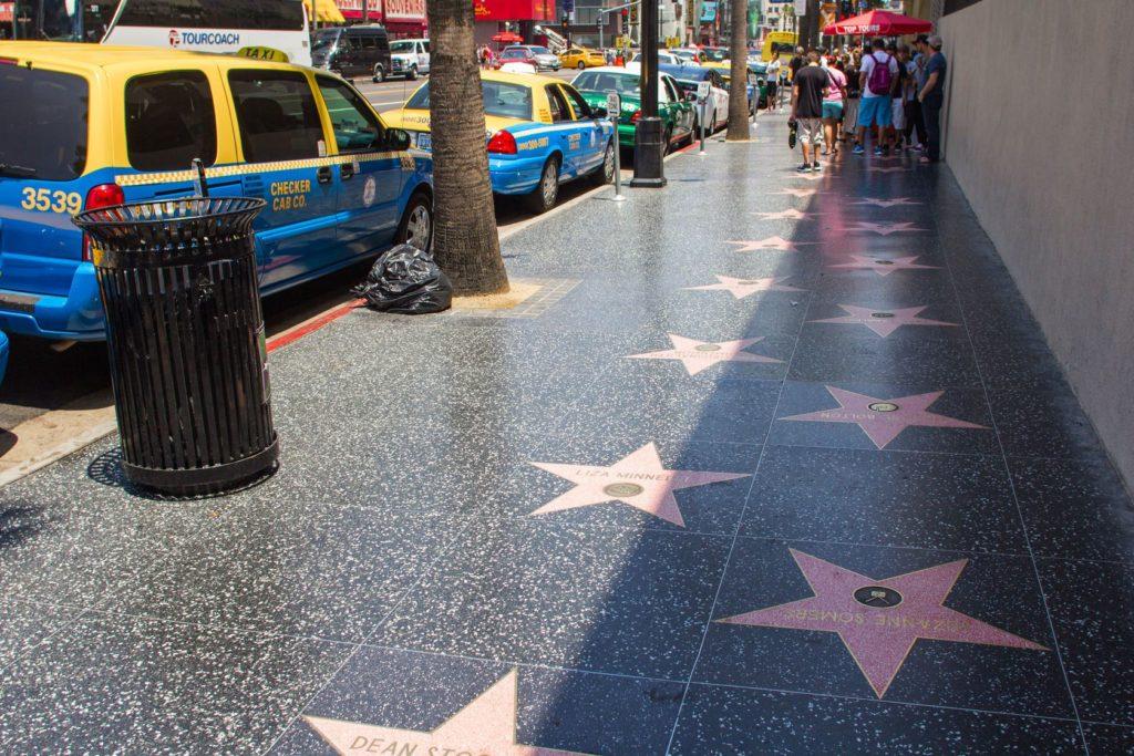 Hollywoodský chodník slávy v Los Angeles | razyph/123RF.com