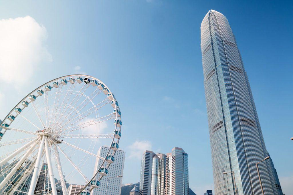 International Finance Centre v Hongkongu   huad262/123RF.com