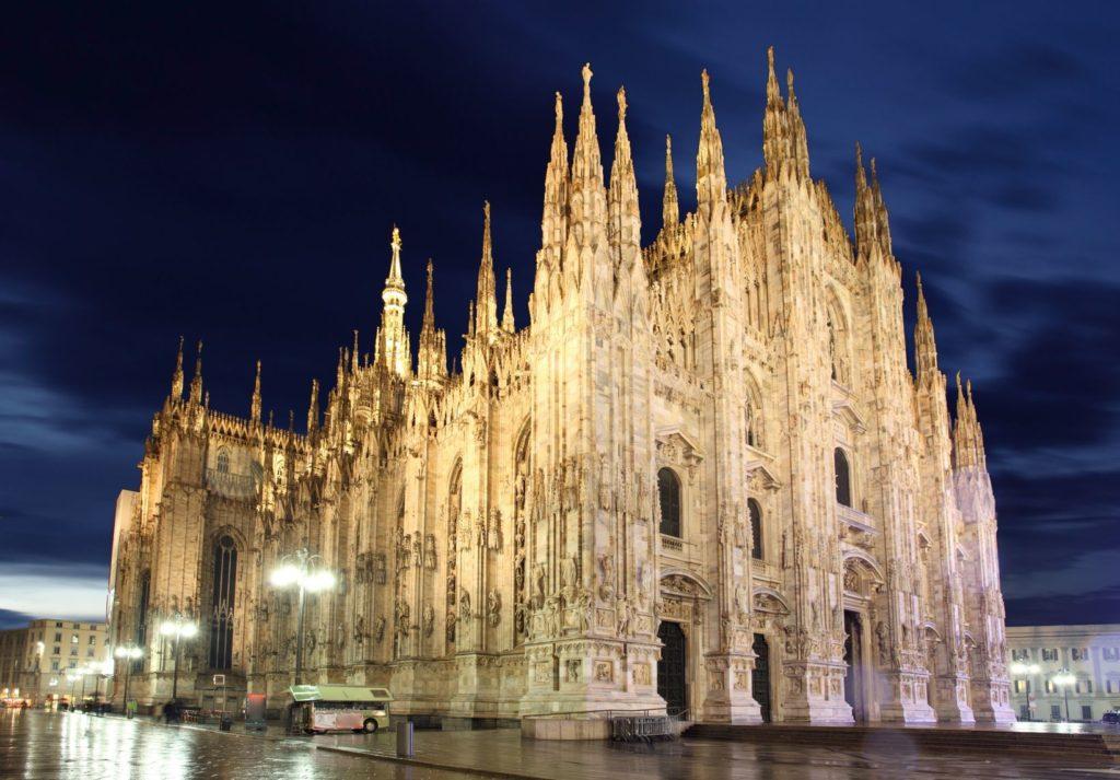Katedrála Narození Panny Marie v Miláně | tomas1111/123RF.com