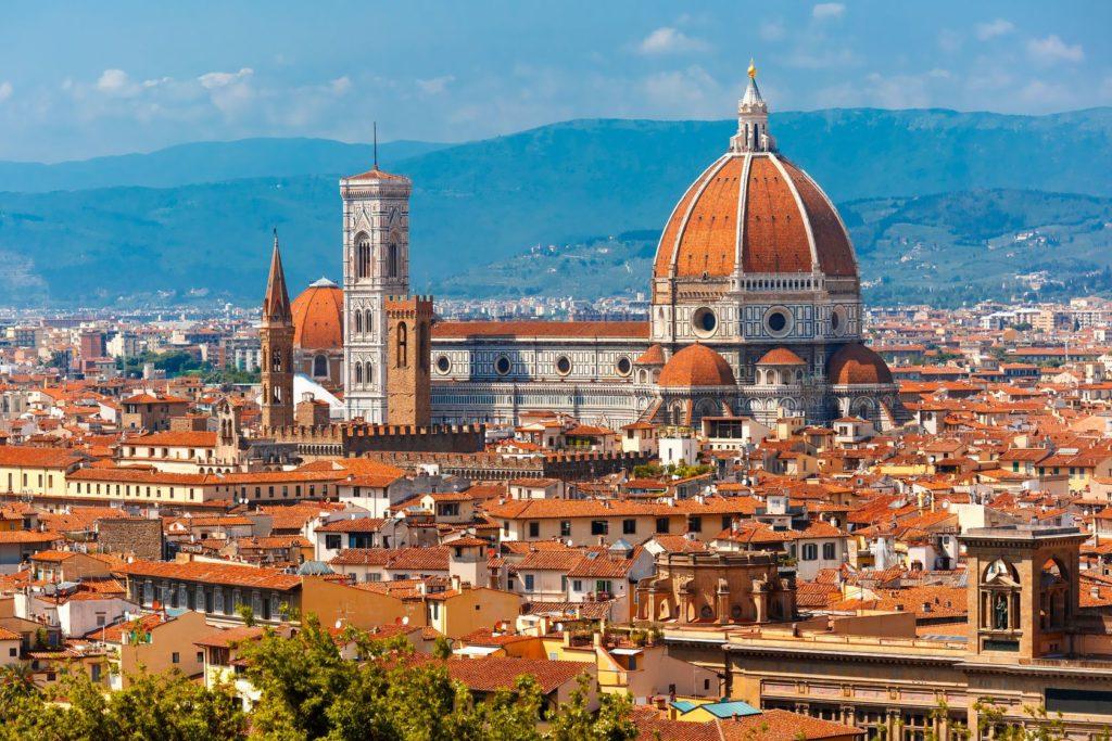 Katedrála Santa Maria Del Fiore ve Florencii | olgacov/123RF.com