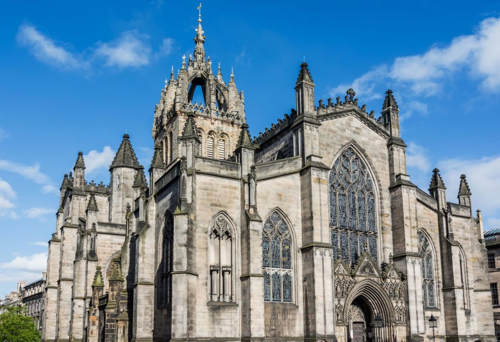 Katedrála svatého Gila v Edinburghu   davidionut/123RF.com