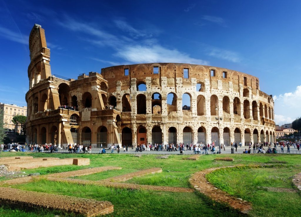 Koloseum v Římě   iakov/123RF.com